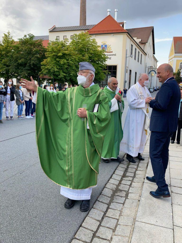Verabschiedung Pfarrer Helm